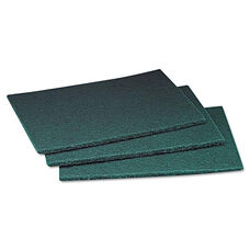 Scotch-Brite™ Professional Commercial Scouring Pad - 6 x 9 - 60/Carton