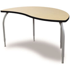 ELO Reef High Pressure Laminate Table with Adjustable Legs and 1.25