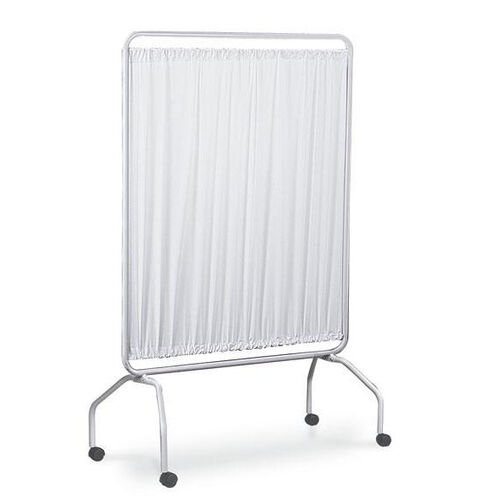 Our 42 Inch Vinyl Panel Screen With 2 Inch Twin Wheel Casters - White is on sale now.