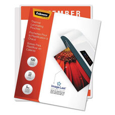 Fellowes® ImageLast Laminating Pouches with UV Protection - 5mil - 11 1/2 x 9 - 100/Pack