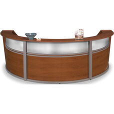Marque Plexi Triple Reception Station - Cherry