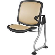 Ready Link Row Add-On Chair - Peach