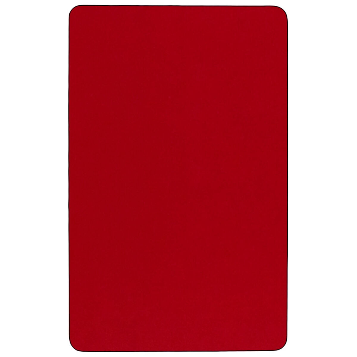 30 W X 72 L Rectangular Red Thermal Laminate Activity