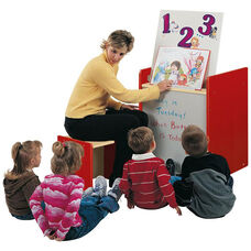 2000 Series Mobile Big Book Easel with Dry/Erase Marker Board