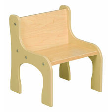 1000 Series Toddler Size Maple Activity Chair - 8