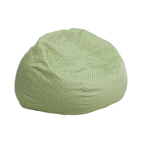 Our Small Green Dot Kids Bean Bag Chair is on sale now.