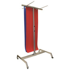 CanDo® Mobile Mat Hanger - 30 Mat Capacity