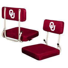 University of Oklahoma Team Logo Hard Back Stadium Seat
