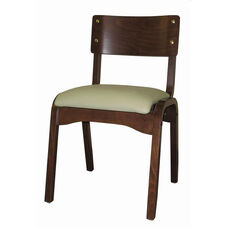 Custom Carlo Armless Stacking Guest Chair - Grade 1
