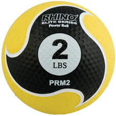 2 lb. Rhino Elite Medicine Ball in Yellow