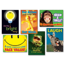 Trend Enterprises Assorted Attitudes/Smiles Theme Prints