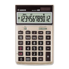 Canon 12 Digit Calc. -Solar withBattery -4 1/2