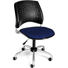 Stars Swivel Chair - Navy