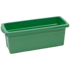 Royal Small Open Environmentally Friendly Tough Plastic Tub - Green - 6''W x 15.63''D x 6.5''H