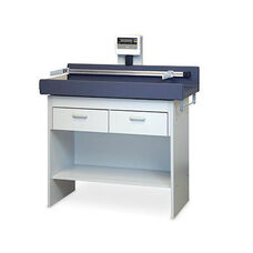 Econo-Line™ Pediatric Table with Built -In Scale - Folkstone Gray Laminate