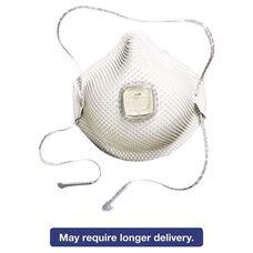 Moldex® 2700N95 Series HandyStrap Respirator - Half-Face Mask - Medium/Large - 10/Box