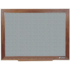 114 Series Wood Frame Tackboard - Claridge Cork - 36